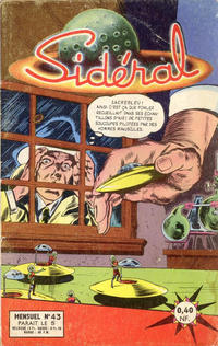 Cover Thumbnail for Sidéral (Arédit-Artima, 1958 series) #43