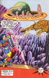 Cover Thumbnail for Sidéral (Arédit-Artima, 1958 series) #44