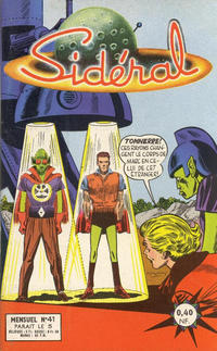 Cover Thumbnail for Sidéral (Arédit-Artima, 1958 series) #41