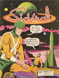 Cover Thumbnail for Sidéral (Arédit-Artima, 1958 series) #25