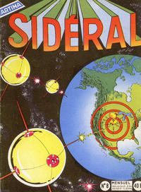 Cover Thumbnail for Sidéral (Arédit-Artima, 1958 series) #8