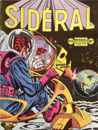 Cover Thumbnail for Sidéral (Arédit-Artima, 1958 series) #13
