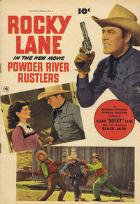 Cover Thumbnail for Powder River Rustlers (Derby Publishing, 1950 series) #1