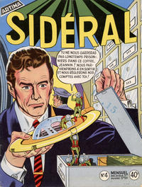 Cover Thumbnail for Sidéral (Arédit-Artima, 1958 series) #4