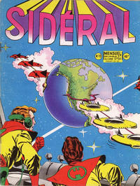 Cover Thumbnail for Sidéral (Arédit-Artima, 1958 series) #15