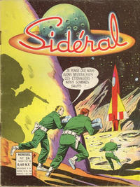 Cover Thumbnail for Sidéral (Arédit-Artima, 1958 series) #24