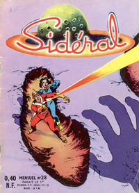 Cover Thumbnail for Sidéral (Arédit-Artima, 1958 series) #28