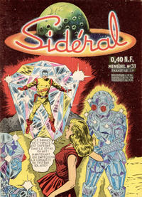 Cover Thumbnail for Sidéral (Arédit-Artima, 1958 series) #31