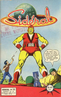Cover Thumbnail for Sidéral (Arédit-Artima, 1958 series) #35