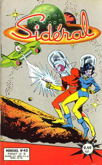 Cover Thumbnail for Sidéral (Arédit-Artima, 1958 series) #40