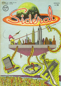 Cover Thumbnail for Sidéral (Arédit-Artima, 1958 series) #50