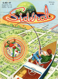 Cover Thumbnail for Sidéral (Arédit-Artima, 1958 series) #51