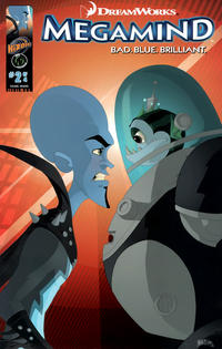 Cover Thumbnail for DreamWorks' Megamind: Bad. Blue. Brilliant (Ape Entertainment, 2010 series) #2