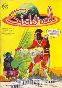 Cover Thumbnail for Sidéral (Arédit-Artima, 1958 series) #45