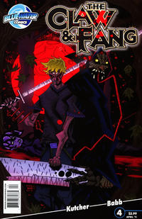 Cover Thumbnail for The Claw and Fang (Bluewater / Storm / Stormfront / Tidalwave, 2010 series) #4
