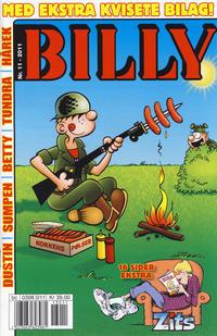 Cover for Billy (Hjemmet / Egmont, 1998 series) #11/2011