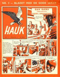Cover Thumbnail for Hauk (Serieforlaget / Se-Bladene / Stabenfeldt, 1955 series) #3/1957