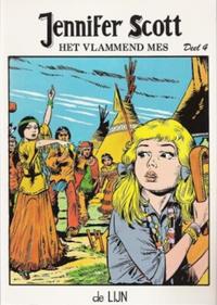 Cover Thumbnail for Jennifer Scott (De Lijn, 1982 series) #4 - Het vlammend mes