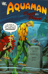 Cover Thumbnail for Aquaman: Death of a Prince (DC, 2011 series)