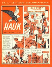 Cover Thumbnail for Hauk (Serieforlaget / Se-Bladene / Stabenfeldt, 1955 series) #6/1957