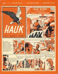 Cover for Hauk (Serieforlaget / Se-Bladene / Stabenfeldt, 1955 series) #7/1957