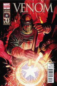 Cover Thumbnail for Venom (Marvel, 2011 series) #4 [I am Captain America variant]