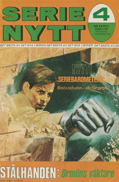 Cover for Serie-nytt [delas?] (Semic, 1970 series) #4/1971