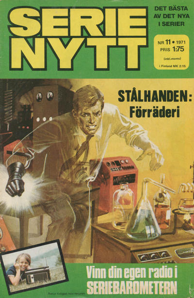 Cover for Serie-nytt [delas?] (Semic, 1970 series) #11/1971