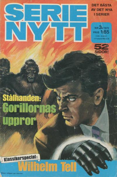 Cover for Serie-nytt [delas?] (Semic, 1970 series) #3/1972