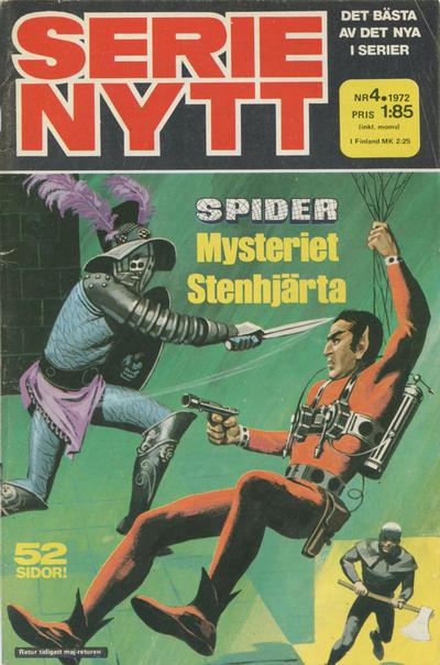 Cover for Serie-nytt [delas?] (Semic, 1970 series) #4/1972