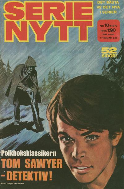 Cover for Serie-nytt [delas?] (Semic, 1970 series) #10/1972