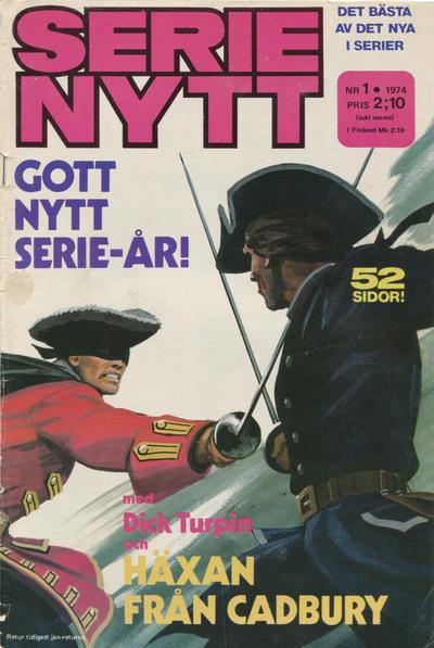 Cover for Serie-nytt [delas?] (Semic, 1970 series) #1/1974