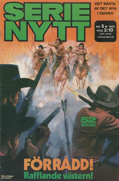 Cover for Serie-nytt [delas?] (Semic, 1970 series) #5/1974