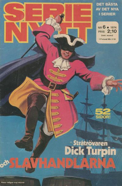 Cover for Serie-nytt [delas?] (Semic, 1970 series) #6/1974