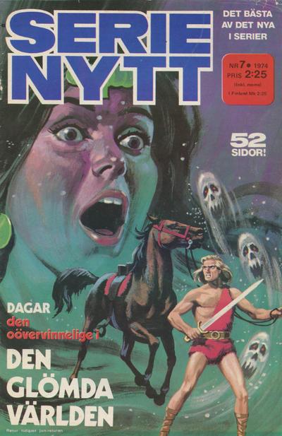 Cover for Serie-nytt [delas?] (Semic, 1970 series) #7/1974