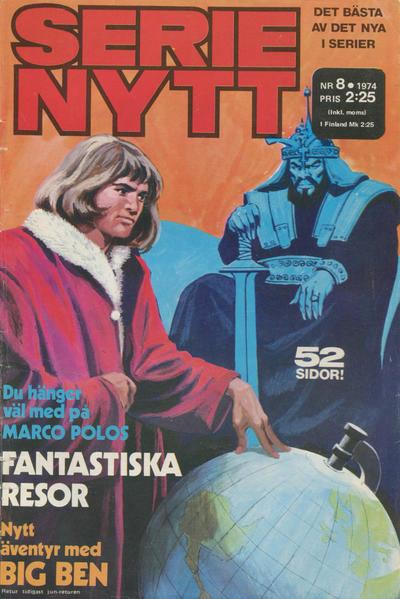 Cover for Serie-nytt [delas?] (Semic, 1970 series) #8/1974