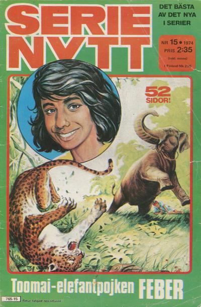 Cover for Serie-nytt [delas?] (Semic, 1970 series) #15/1974