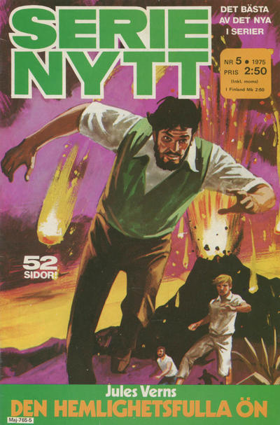 Cover for Serie-nytt [delas?] (Semic, 1970 series) #5/1975