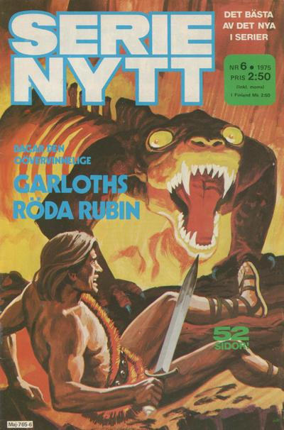 Cover for Serie-nytt [delas?] (Semic, 1970 series) #6/1975