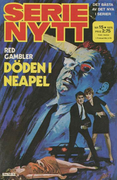 Cover for Serie-nytt [delas?] (Semic, 1970 series) #15/1975