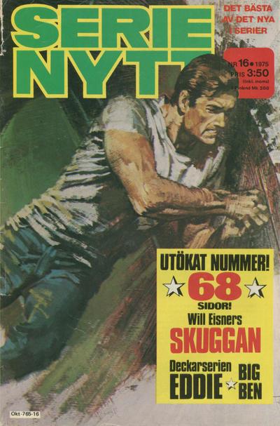 Cover for Serie-nytt [delas?] (Semic, 1970 series) #16/1975