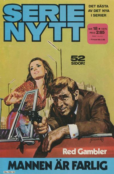 Cover for Serie-nytt [delas?] (Semic, 1970 series) #18/1975