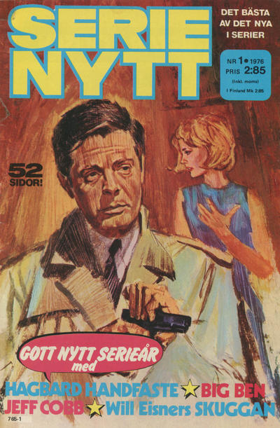 Cover for Serie-nytt [delas?] (Semic, 1970 series) #1/1976
