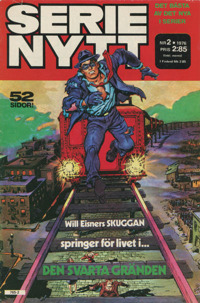 Cover for Serie-nytt [delas?] (Semic, 1970 series) #2/1976