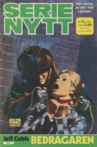 Cover for Serie-nytt [delas?] (Semic, 1970 series) #3/1976