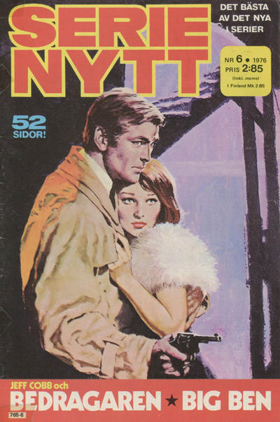 Cover for Serie-nytt [delas?] (Semic, 1970 series) #6/1976