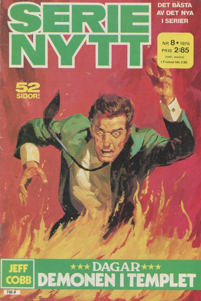 Cover for Serie-nytt [delas?] (Semic, 1970 series) #8/1976