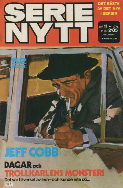 Cover for Serie-nytt [delas?] (Semic, 1970 series) #11/1976