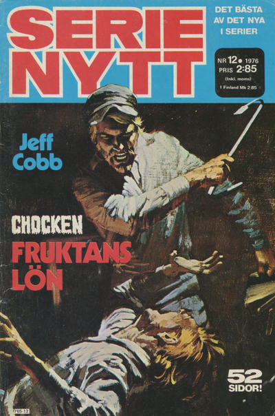 Cover for Serie-nytt [delas?] (Semic, 1970 series) #12/1976