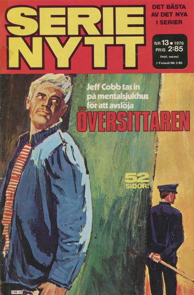 Cover for Serie-nytt [delas?] (Semic, 1970 series) #13/1976